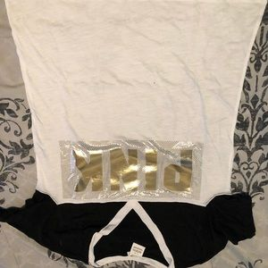 PINK Victoria's Secret Tops - Pink Holiday tee and pants set